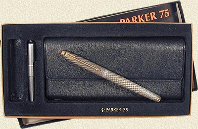 Parker 75 Sterling Silver Flat Top.