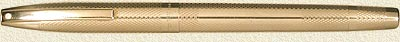 Sheaffer Imperial Fish Scale 9kt Solid Gold