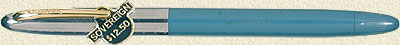 Sheaffer Sovereign Snorkel Blue w/Chrome